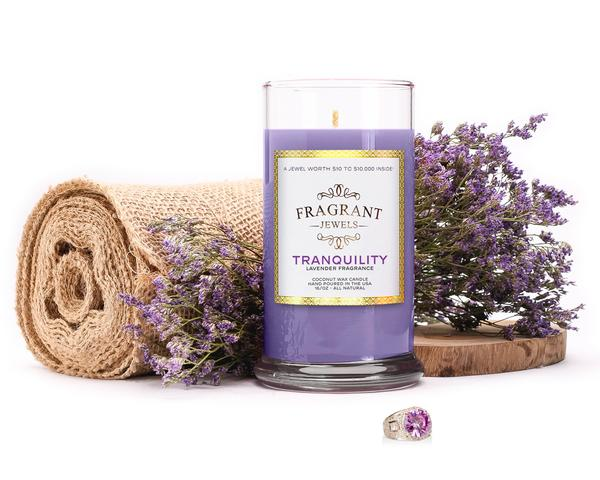 fragrant jewels lavender candle