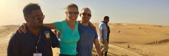dubai desert safari sylvia longmire