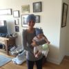 Jessica Reid and Poppy beanies