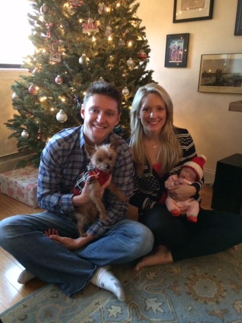 Jessica Sliwerski Kyle Poppy Christmas
