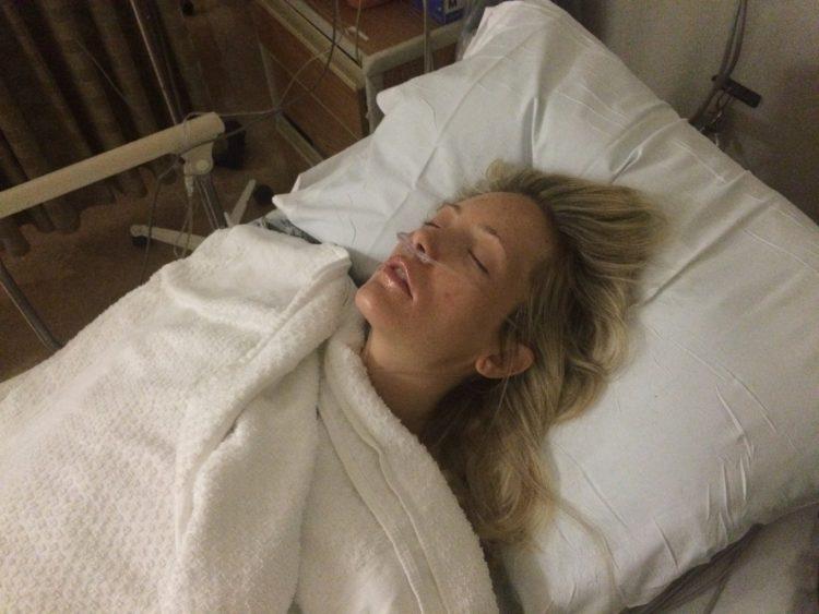 Jessica Sliwerski mastectomy recovery