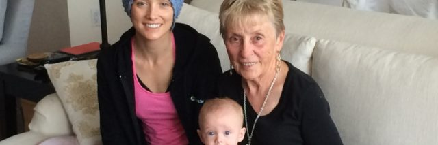 Jessica Sliwerski with grandma and Penelope