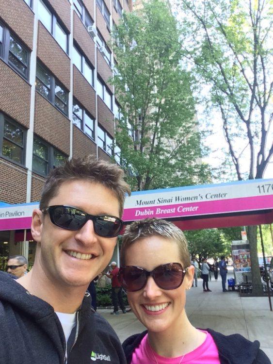 Jessica Sliwerskin Pre Chemo Selfie