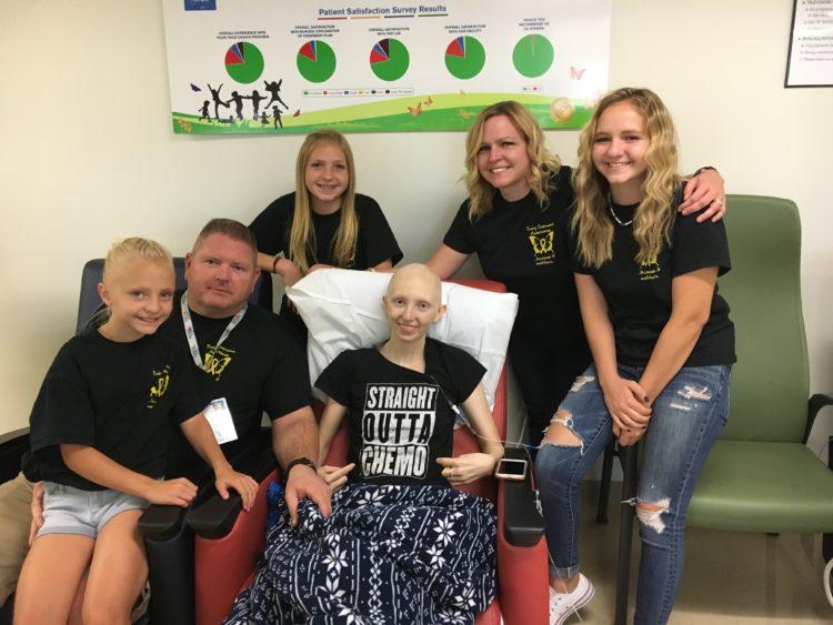 Cass Huff last chemo