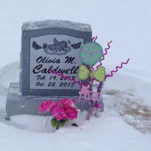 Olivia Caldwell Gravestone