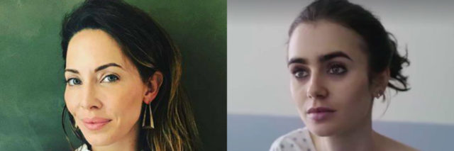 whitney cummings and lily collins