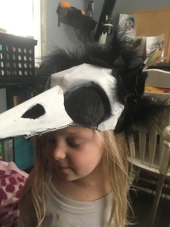 Scarlette Tipton raven costume 1