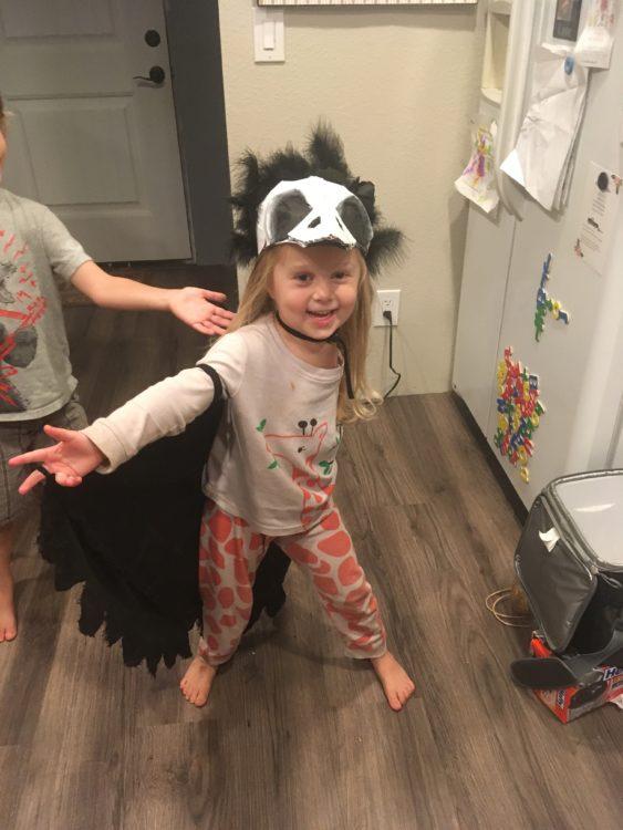 Scarlette Tipton raven costume 2