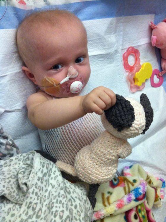 Scarlette Tipton hospital bed toys