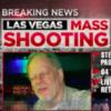 news report of a vegas shooting