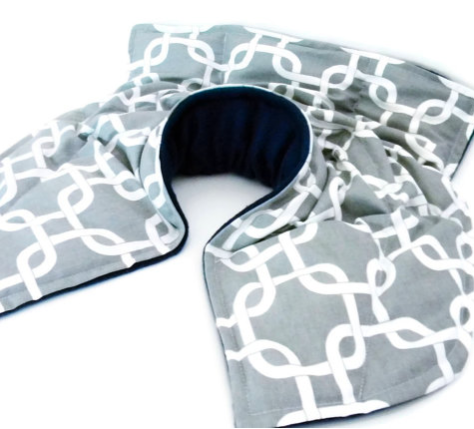 microwavable heat pack neck pillow