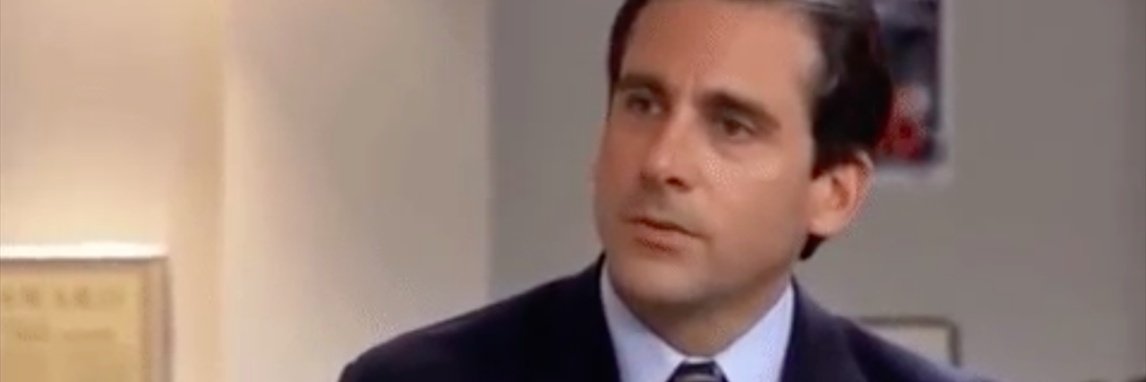 michael scott asking 'Why are you the way that you are?'