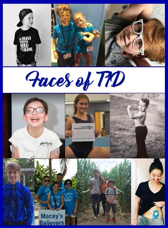 faces of type 1 diabetes