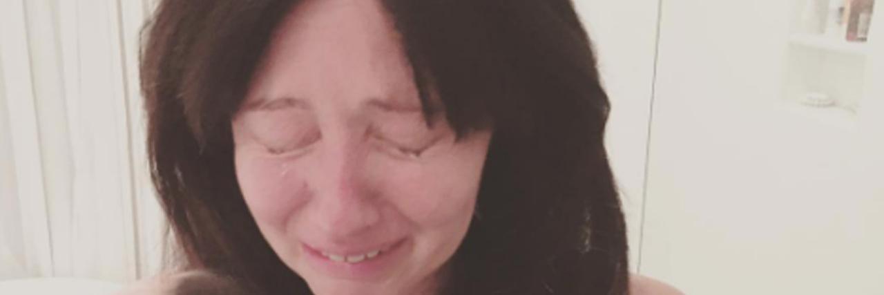 Shannen Doherty chemo photo