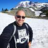 Steve Pake snow mountain