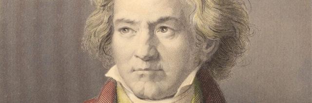 portrait of Beethoven