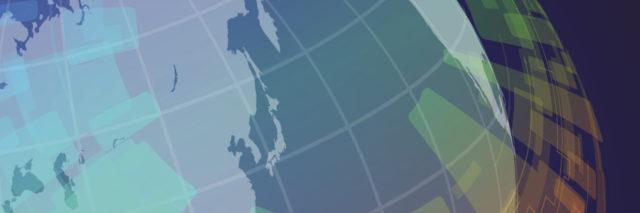 colorful illustration of globe