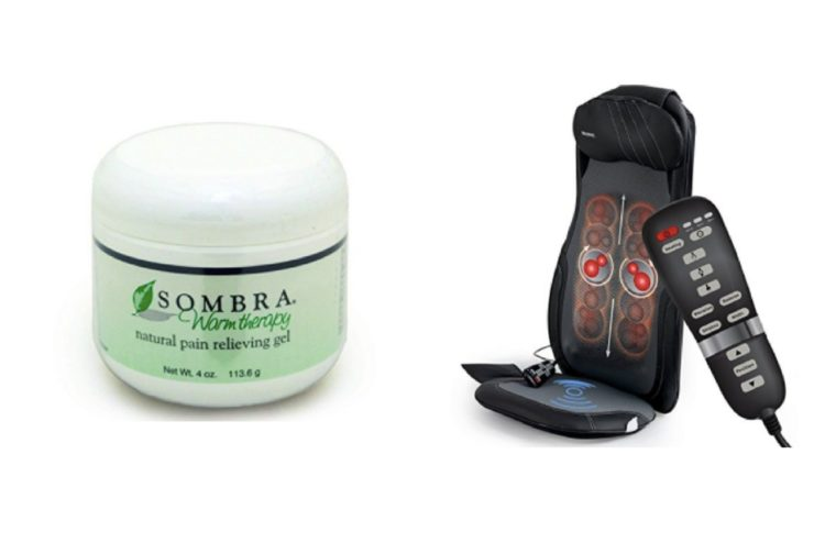 sombra therapy cream and chair massager