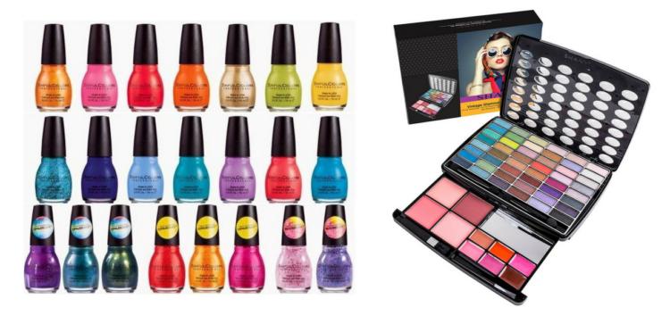nail polish and makeup kit