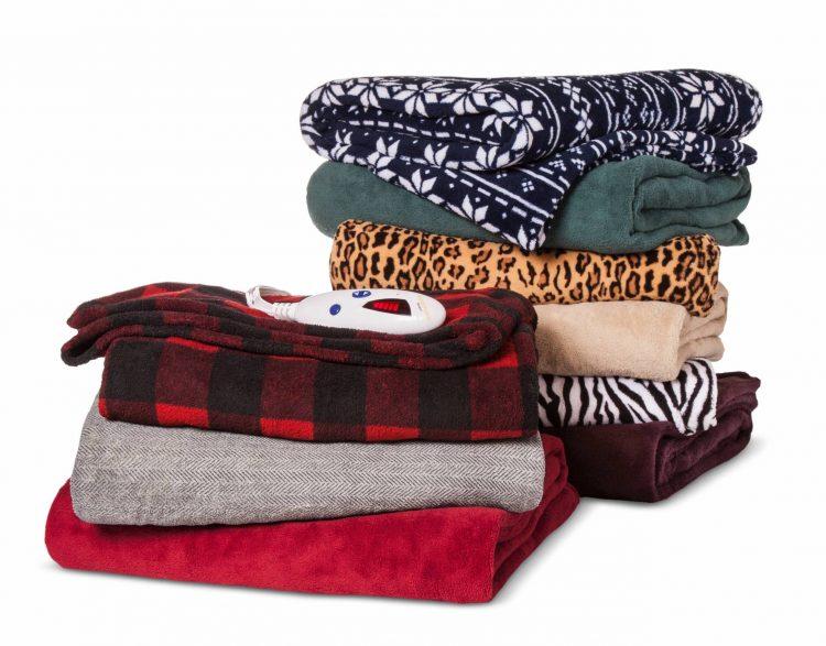 biddeford heated throw blanket