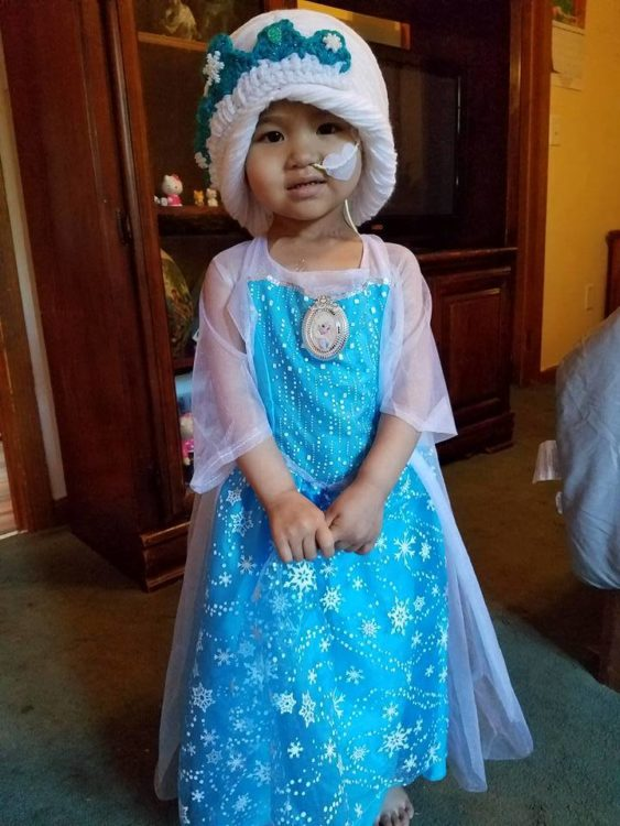 cute Elsa magic wig