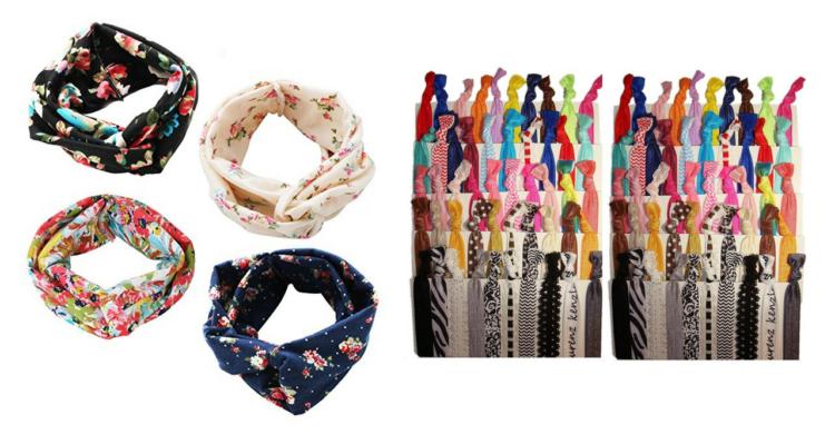 headbands and hair ties
