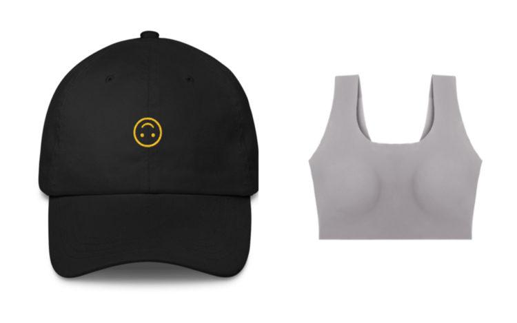 mood hat, bra
