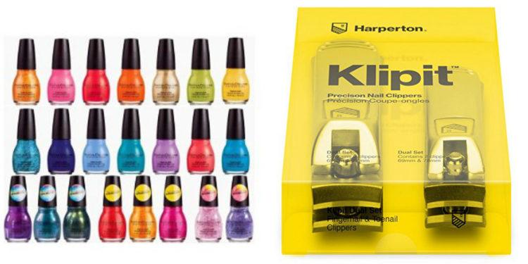 nail clippers and polish