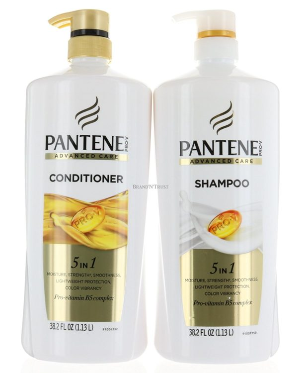 pantene 5-in-1 shampoo and conditioner
