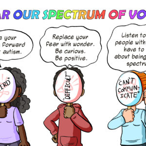 Hear our spectrum of voices.