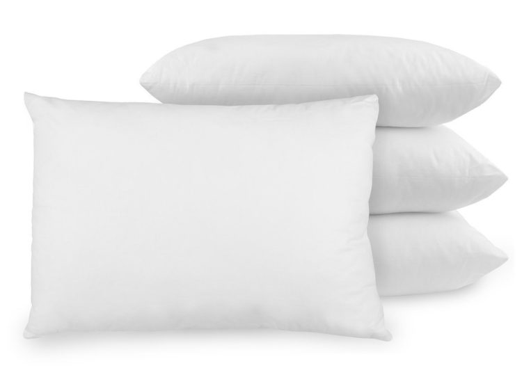four pillows