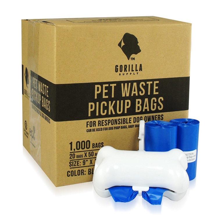 pet waste pickup bags