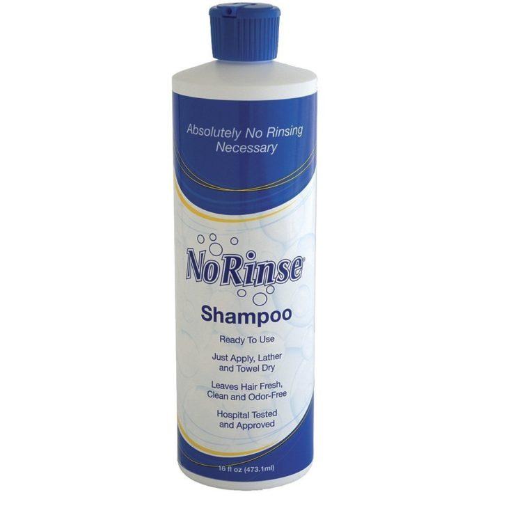 no rinse shampoo