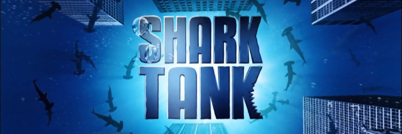 Shark Tank TV show logo.