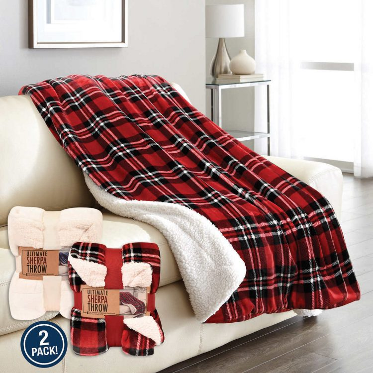 sherpa blankets from costco