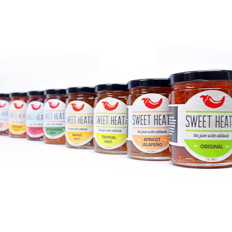 Jars of Sweet Heat Jam