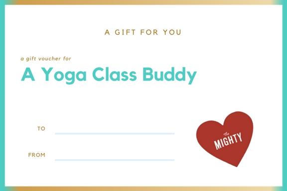 A Yoga Class Buddy