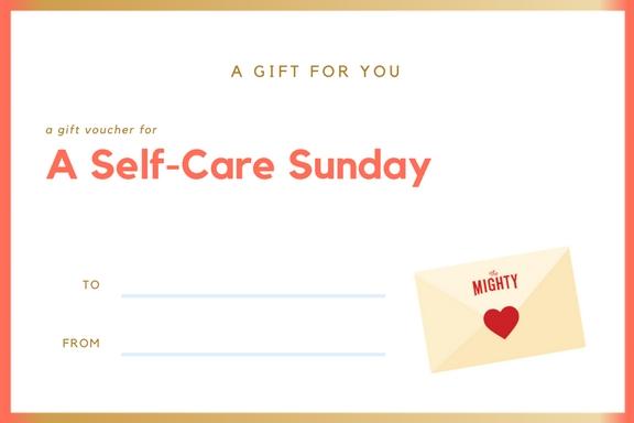 A Self-Care Sunday