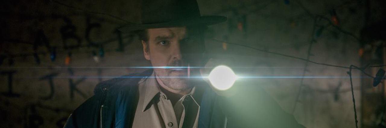 Jim Hopper from Stranger Things