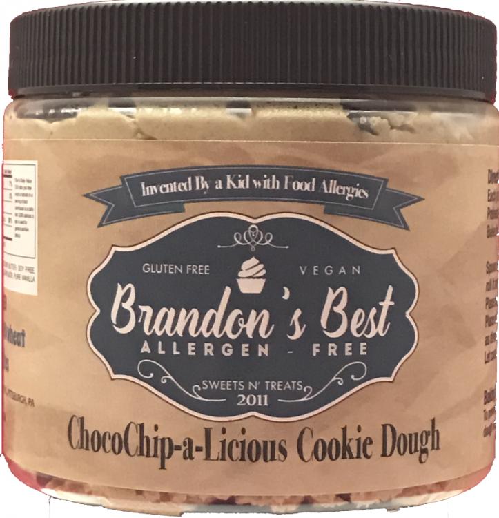 brandon's best cookie dough in a jar