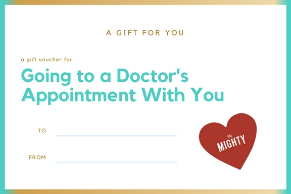 coupon for going to a doctors appointment with you