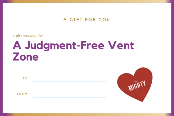 A Judgment-Free Vent Zone