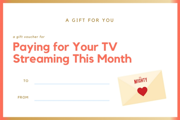 coupon for paying for your tv streaming this month