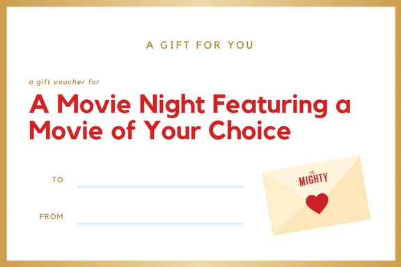 A Movie Night Featuring the Movie of Your Choice
