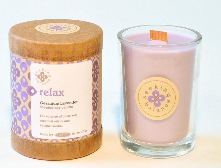 lavender ccandle