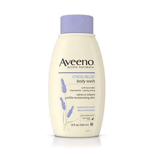 Aveeno lavender body scrub