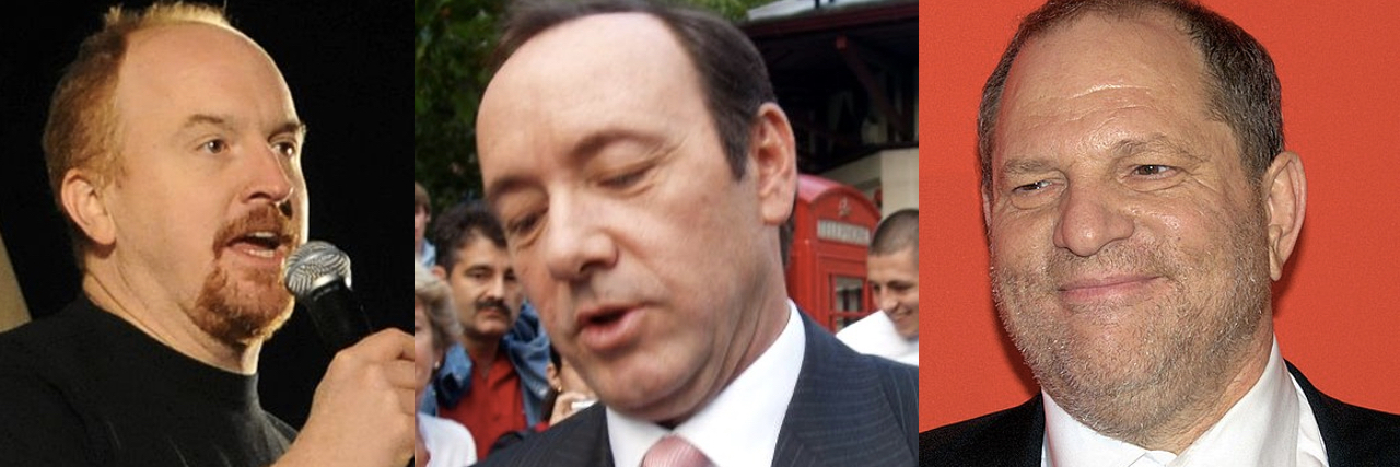 Louie C.K., Kevin Spacey, Harvey Weinstein