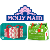 Molly Maids, Target Gift Card and Amazon Fresh bag