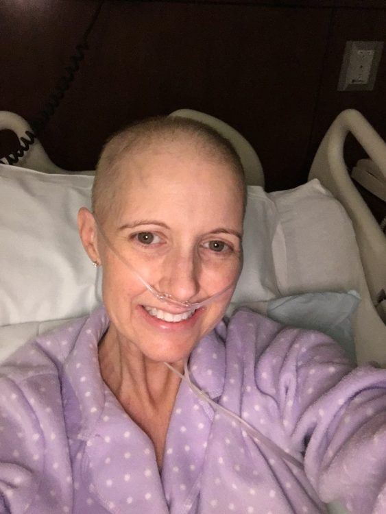 Jennifer Cordts breast cancer hospital photo 2