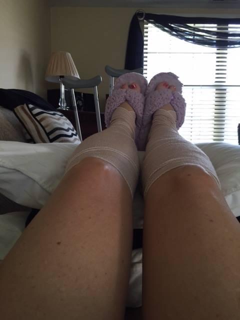 Judy Cloud leg wraps